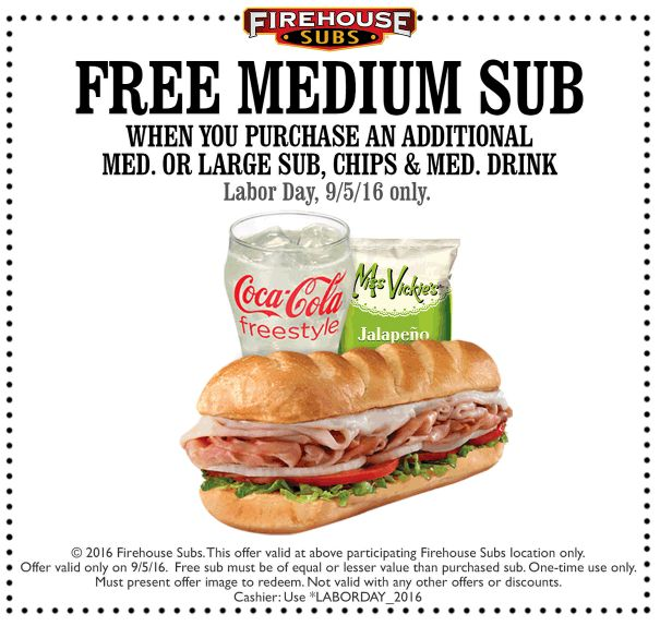 Jerry's subs coupons