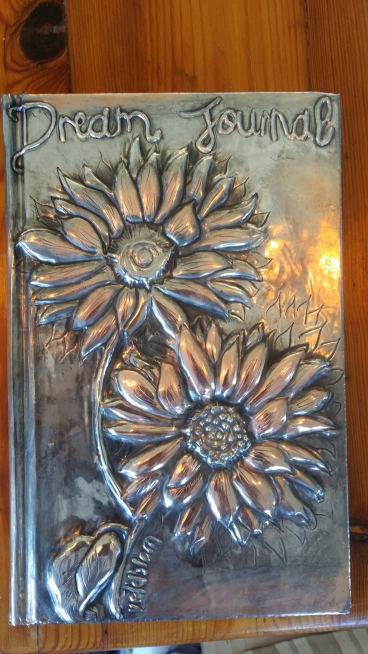 More pewter diaries I made as orders. Veldblom