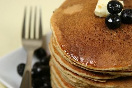 Bob's Red Mill's Recipe Box: Blueberry - Yogurt Pancakes