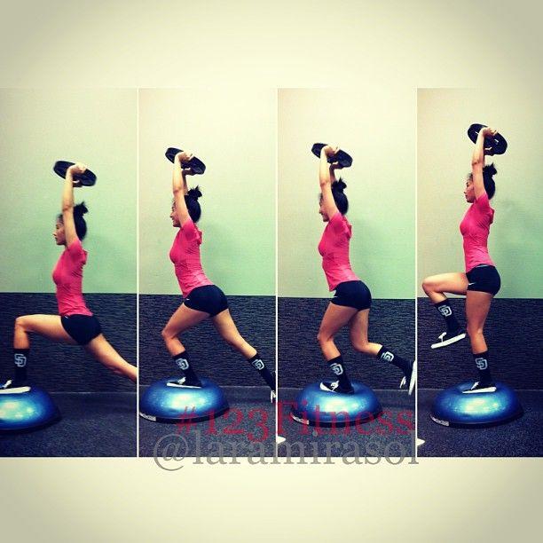Bosu Ball Total Body Workout: 17 Best Images About BOSU Workouts On Pinterest