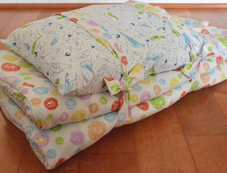 Toddler Nap Mat Tutorial | HoneyBeGood
