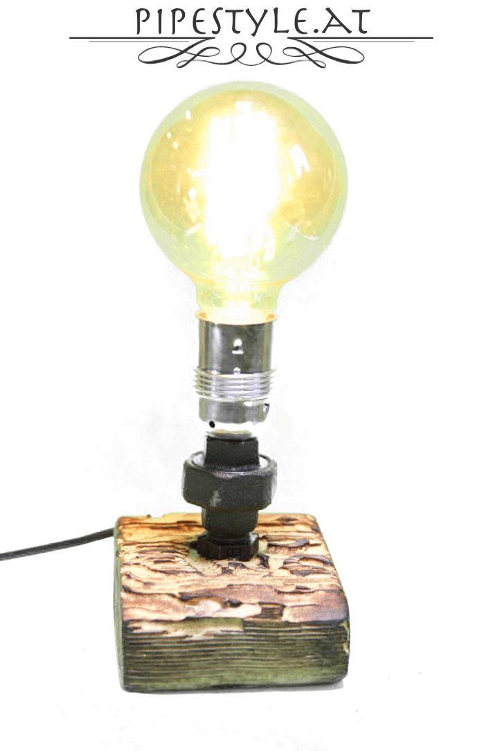 Ideal Edle Tischlampe Rohr Design Edison Lampe Nachttischlampe Industrie