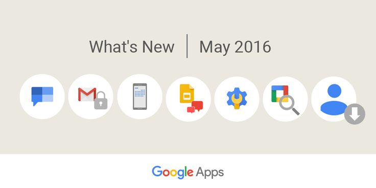 Foto: Before we kick May to the curb, take a look at the updates you may have missed: https://goo.gl/TSv0vU #GAFE