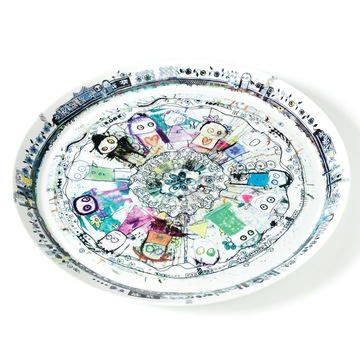 Round Plate, 51€, now featured on Fab.