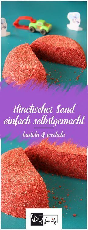 It's a child of magic – kinetic sand simply homemade