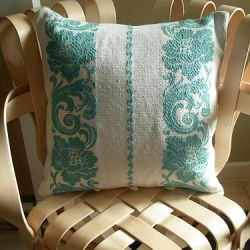 Vintage turquoise material
