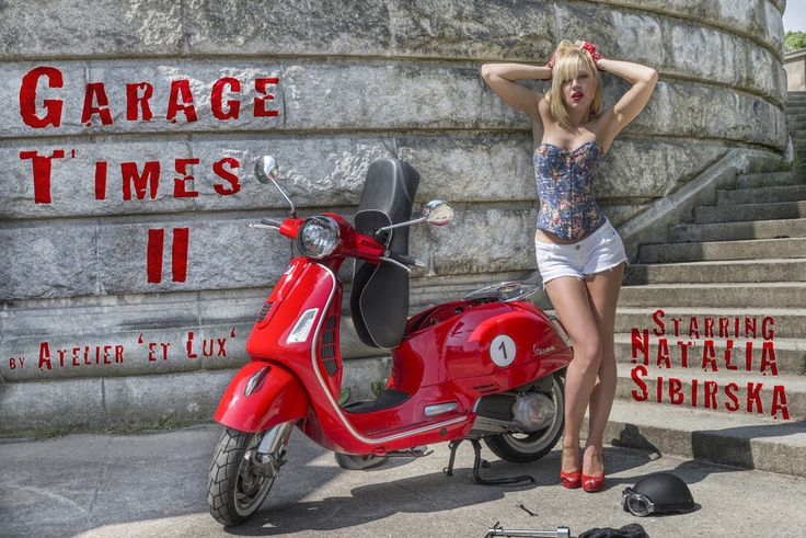Session 'Garage Times II'  Photography: Atelier 'et Lux', Model: Natalia Sibirska