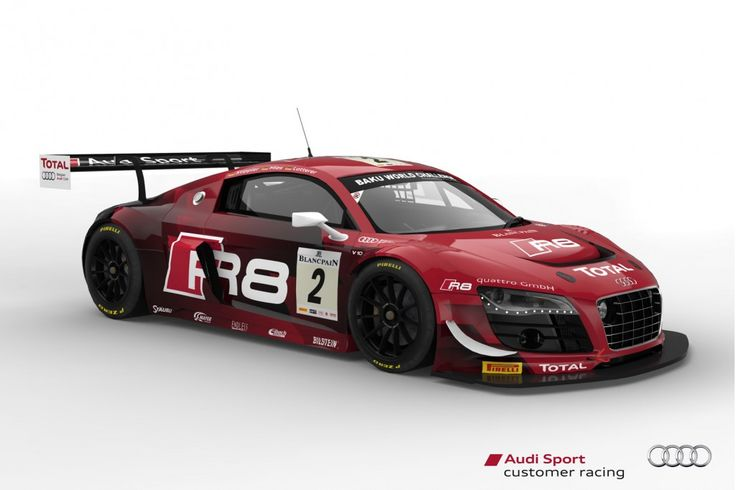 2013 Audi R8 LMS ultra race car