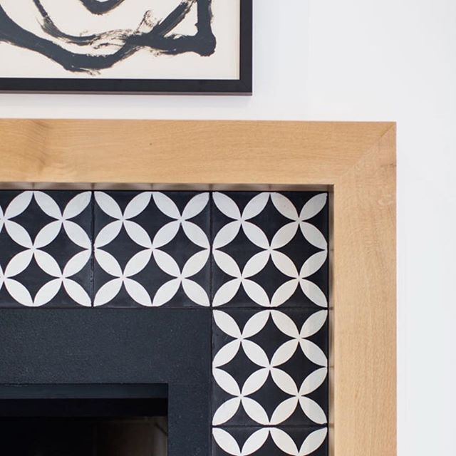 Image result for cle tile on fireplace