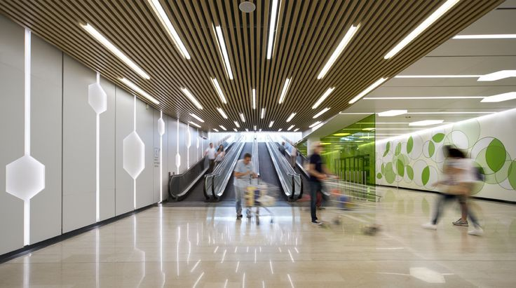 https://flic.kr/p/nUuR5M | Centro Sarca - restyling parcheggi e lobby di ingresso