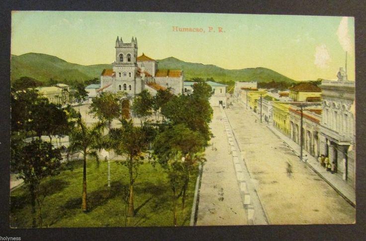 Antique Postcard Humacao Puerto Rico Liebig SJ PR 1910'S | eBay