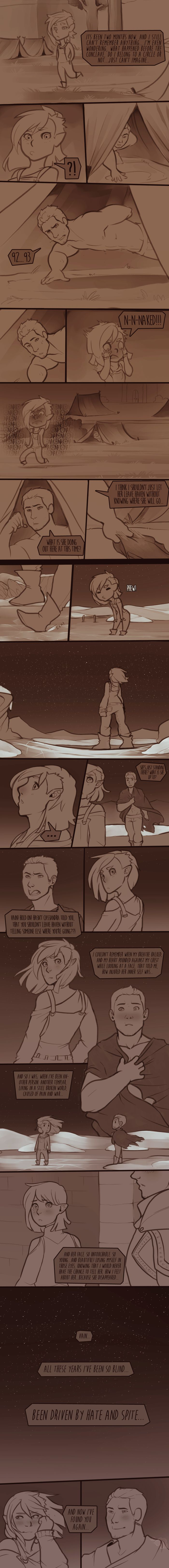 With Vain, Cullen, and Varric and Dorian and LOVE! Much love nyeh~ CHARACTERs © BIOWARE VAIN & ART © schl4fmuetze