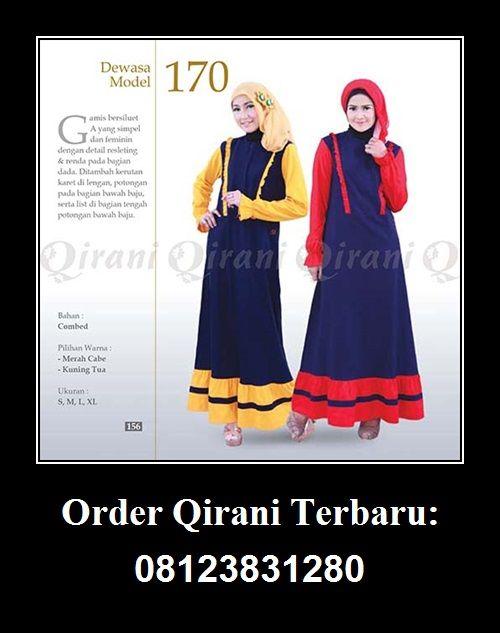Gamis Dewasa Qirani Model 170. Hubungi : Whatsapp : +62 812-3831-280  SMS : +62 812-3831-280  BBM : 5F03DE1D