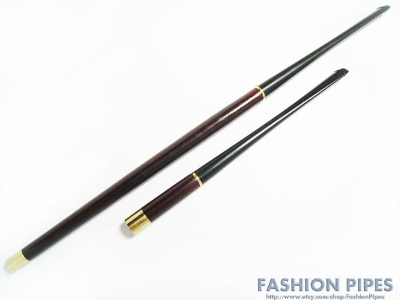"Vintage Cigarette Holder #modcloth #styleicon This is a vintage cigarette holder, very similar to the one Audrey Hepburn uses in her movie ""Breakfast at Tiffany's""."