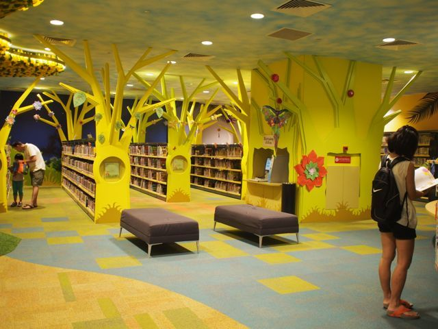 singapore | my tree house | green library for kids