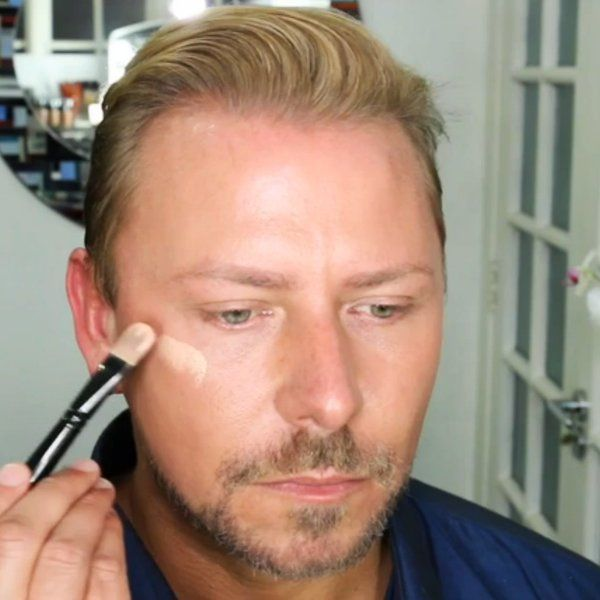 """YouTube makeup phenomenon Wayne Goss teaches us how to avoid falling victim to your makeup and weighed down by your foundation — by looking like you aren't wearing much at all.    Watch Goss's easy steps for how to pull off the """"no-makeup makeup"""" look and appear well-rested and glowing."""