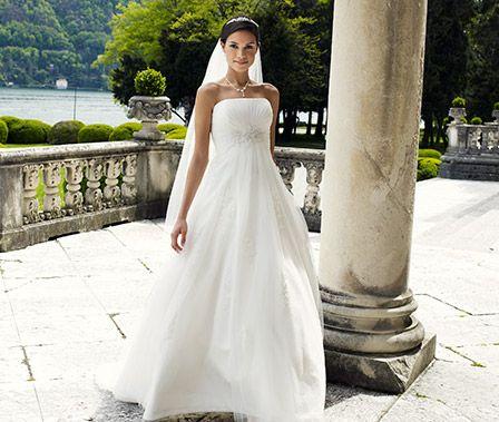 Best pris hos oss http://www.abelone.no/nettbutikk/brud-brudekjoler-tilbehor/brudekjoler/
