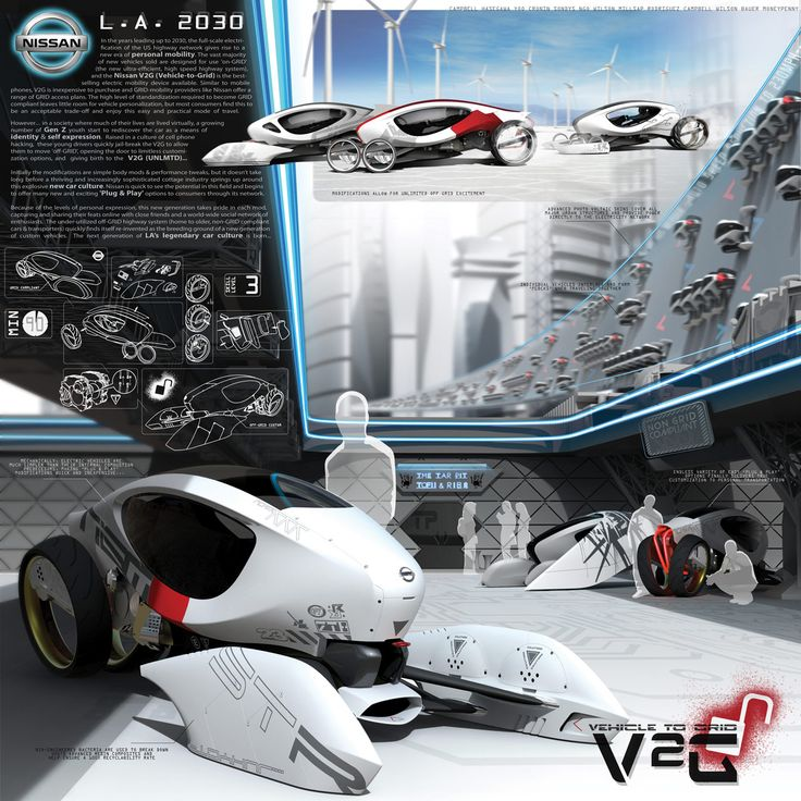 CG Advertising - Computer graphics, 3d images, product design - Nissan V2G