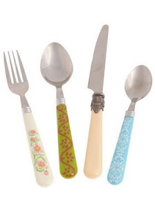 Cutensils cutlery from Modcloth: Vintage Kitchens, Cutlery Sets, Cutensil Flatware, Kitchens Accessories, Kitchens Utensils, Flatware Sets, Modcloth Com, Retro Vintage, Cutensil Cutlery