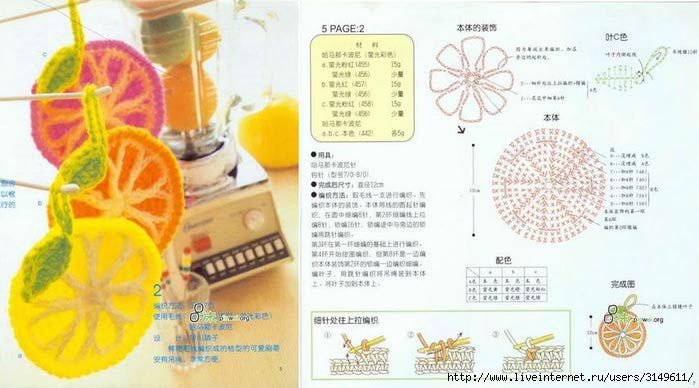 Various cartoon flower illustration (10) - Liu core snow - snow willow core of blog. FREE CHART 2/15