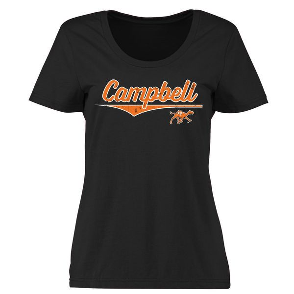 Campbell Fighting Camels Women's American Classic Classic Fit T-Shirt - Black - $21.99