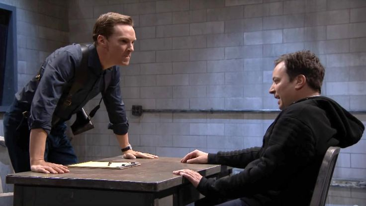 Benedict Cumberbatch Nonsensically Interrogates Jimmy Fallon in New 'Mad Libs Theater'