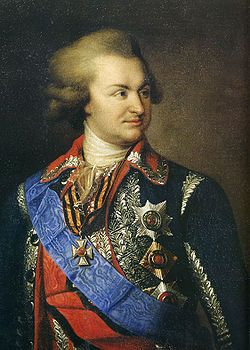 Grigory Potemkin (1739 - 1791). Lover of Empress Catherine II from 1762 until 1775. He remained a close friend and adviser to the empress after their affair ended.