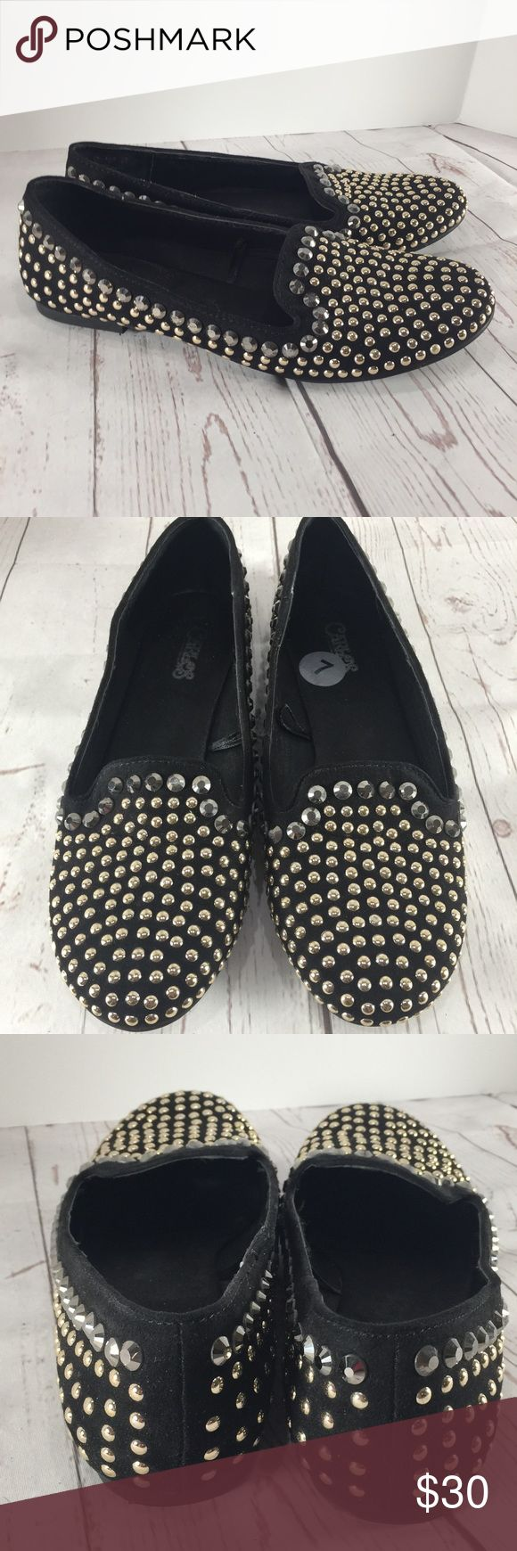 ✨Carlos Santana Studded Loafers Size 7✨ Carlos Santana Studded Loafers Size 7, beautiful shoes, only used once; almost new. Take a look at the pictures for more details Carlos Santana Shoes Flats & Loafers