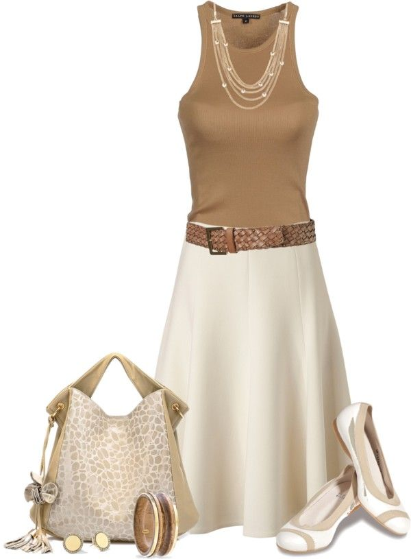 """Neutrals"" by johnna-cameron ❤ liked on Polyvore"