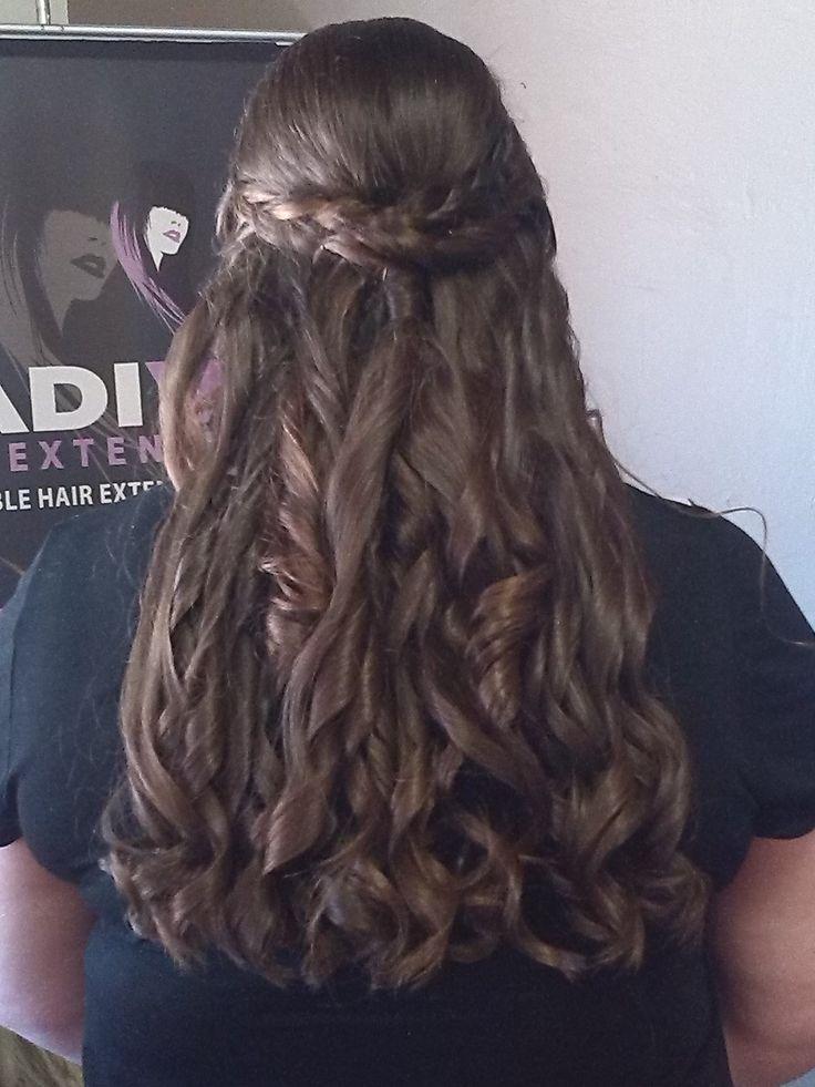 Curls in natural hair
