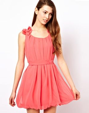 The Style Peated Dress