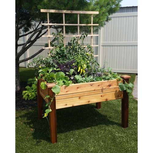 Gronomics Deluxe Raised Garden Bed