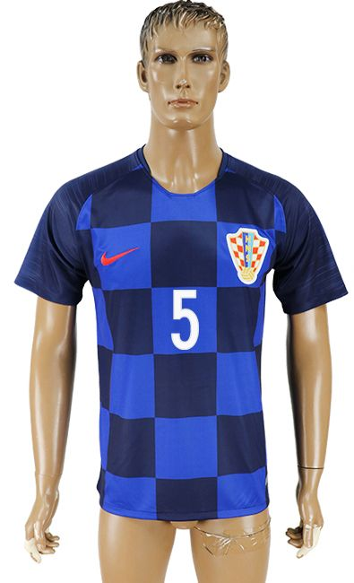 2018 Croatia World Cup Jersey  5  a2ac24941