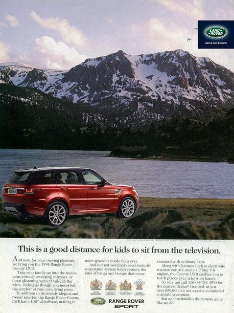 9 Best Retro Land Rover Print Ads 2013 Images On