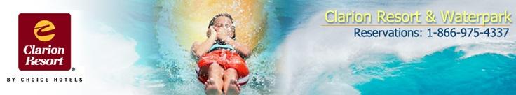 Clarion Hotel Orlando Kissimmee, Florida - Resort & Waterpark - water park hotels -
