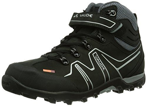 Vaude Unisex Adults' Moab Mid STX Am Mountain Biking Shoes Black Size: 38 EU (5 UK) eP1ugJSl