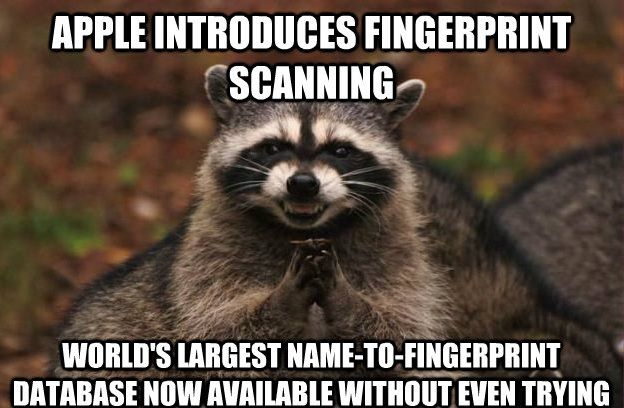 The NSA is literally staffed by nothing but devious raccoons.