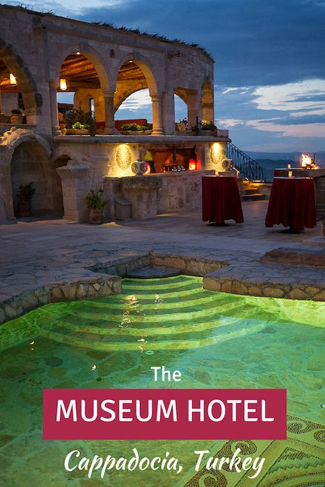 This luxury cave hotel in Cappadocia Turkey is a museum too. Click to learn more about it.