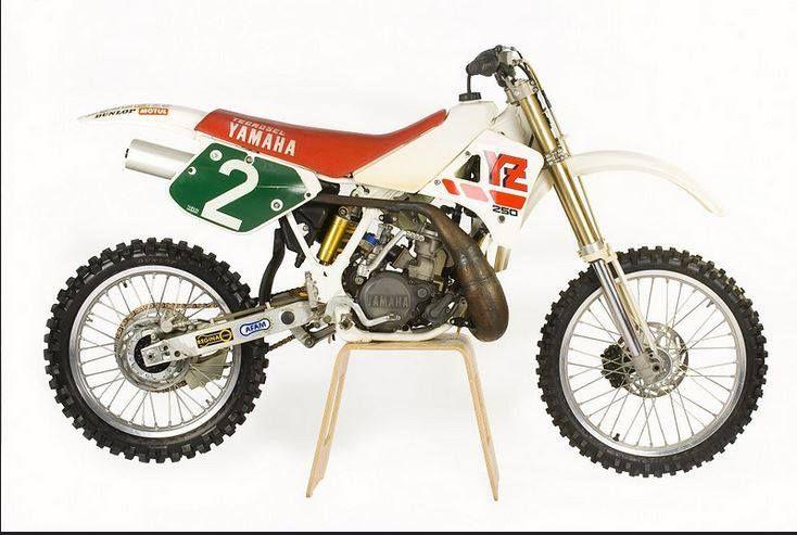 1988- Works Yamaha 250 of Pekka Vehkonen