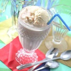 Cocoa Cola Float