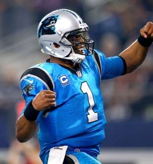 Despite an offense of limited weapons, quarterback Cam Newton and a stout defens... - Ronald Martinez / Getty Images
