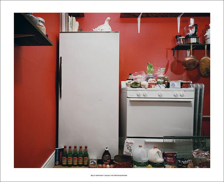 "Millee Tibbs - ""Self-Portrait Inside The Refrigerator"""