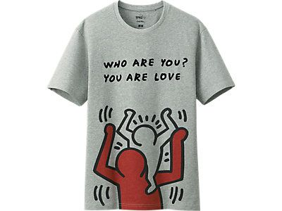 Keith Haring just so i know what his name is. I have a few of these prints