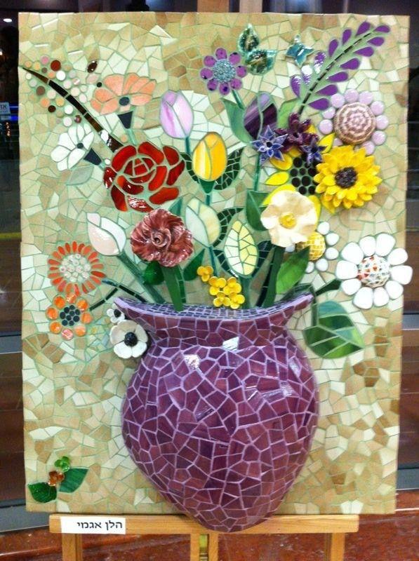Multiple flowers 3D pot