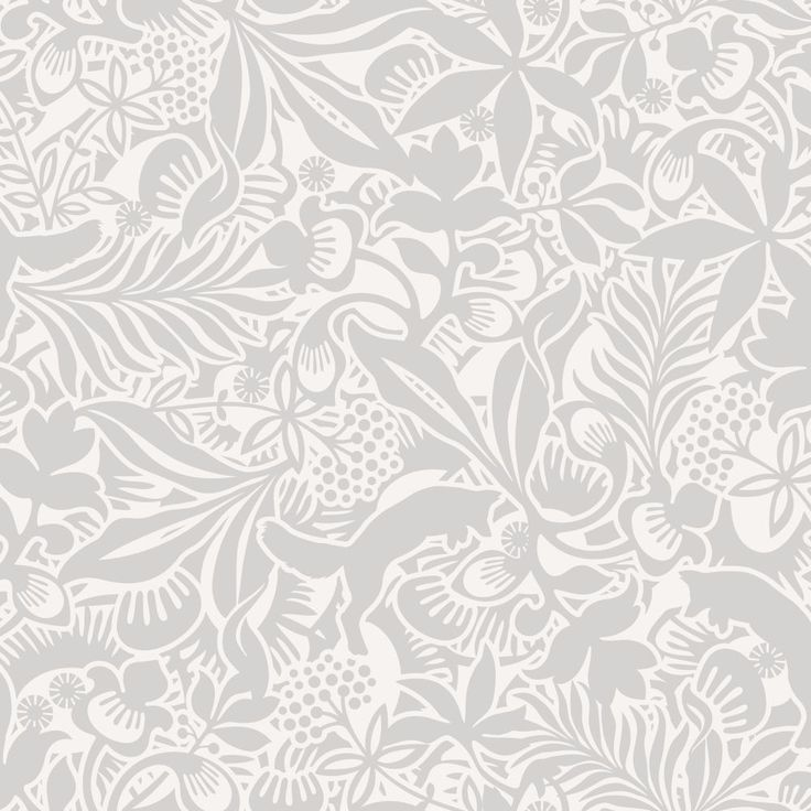 Boråstapeter Fantasia Grey Wallpaper main image