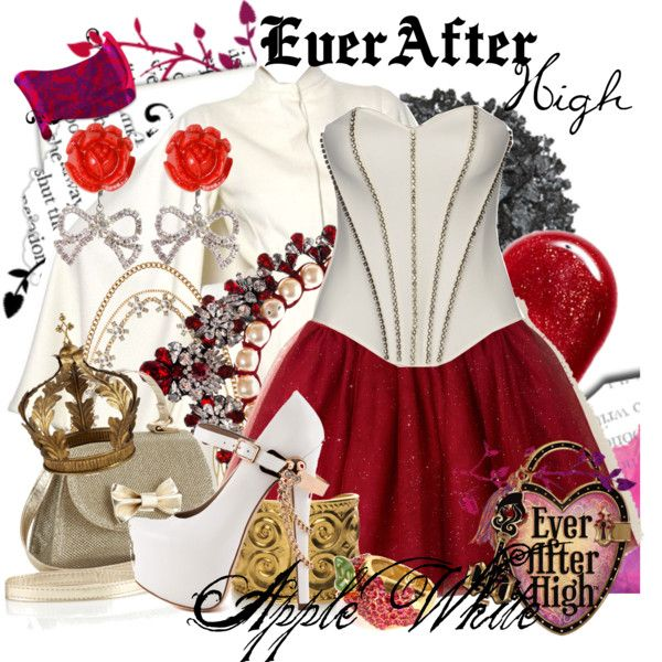 """""""Ever After High : Apple White"""" by missm26 on Polyvore"""