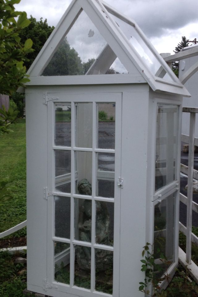 1000 images about garden greenhouse potting sheds made for Mini potting shed