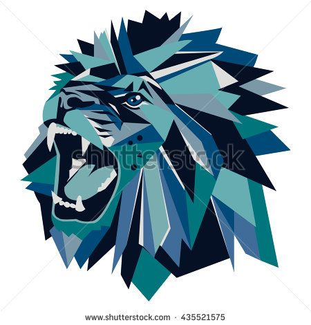 best 25 geometric lion ideas on pinterest geometric
