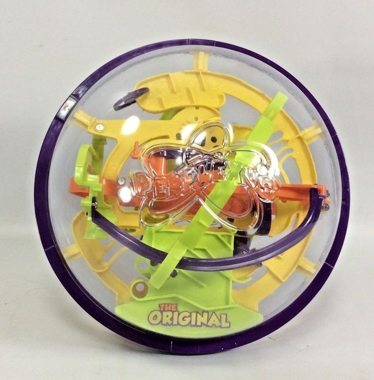Perplexus The Original 3D Maze Puzzle Game Various Difficulties 4 Puzzle Paths #SpinMaster
