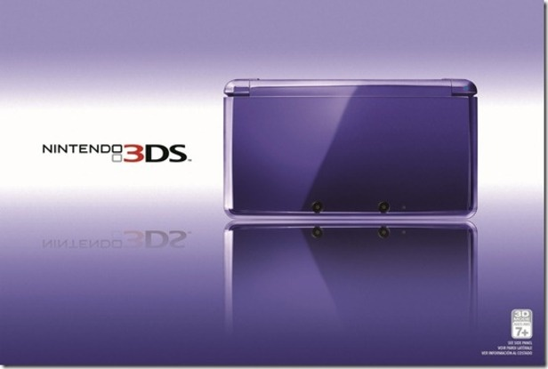 Nintendo Introduces 'Midnight Purple' 3DS:  Launches with Mario Tennis Open